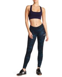 New Balance | Impact Print Tights With Reflectors And Vent Panels | Lyst