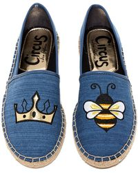Circus by Sam Edelman - Leni Queen Bee Flat - Lyst