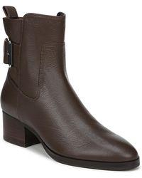 Via Spiga - Octavia Leather Buckle Boot - Lyst