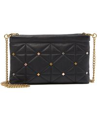 Anne Klein - Facile Quilted Leather Crossbody Bag - Lyst