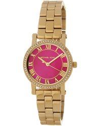 MICHAEL Michael Kors - Women's Petite Norie Analog Quartz Bracelet Watch, 28mm - Lyst