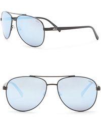 Revo - Shaw Polarized 61mm Aviator Sunglasses - Lyst