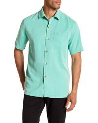 Tommy Bahama - Coastal San Clemente Short Sleeve Regular Fit Silk Camp Shirt - Lyst
