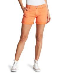Big Star - Avery Boyfriend Chino Shorts - Lyst