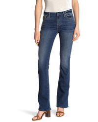 7fafa939a27 7 For All Mankind Karah Bootcut Jean, Blklake, 25 in Blue - Lyst