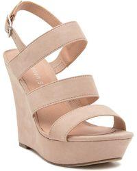 Madden Girl - Blenda Wedge Platform Ankle Strap Sandal - Lyst