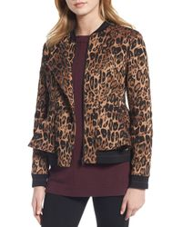 Trouvé - Leopard Print Blazer - Lyst