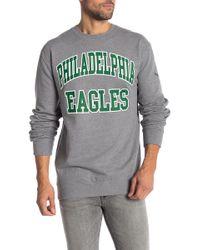 Mitchell & Ness - Philadelphia Eagles Start Of Season Crew Neck Sweater - Lyst