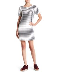 Six Crisp Days - Striped T-shirt Dress - Lyst