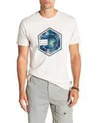 Billabong - Access Short Sleeve Graphic Print Tailored Fit Tee - Lyst
