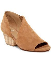 Eileen Fisher - Time Block Heel Bootie - Lyst