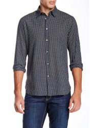John Varvatos - Classic Point Long Sleeve Slim Fit Shirt - Lyst