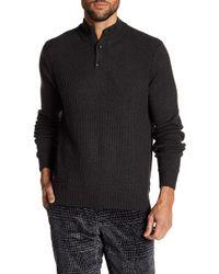 Perry Ellis - Long Sleeve Textured Sweater - Lyst
