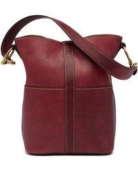 Frye - Ilana Leather Harness Bucket Bag - Lyst