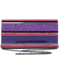 Sondra Roberts - Multicolored Lucite Clutch - Lyst