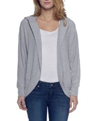 BB Dakota - Snap Heather Hoodie Sweatshirt - Lyst