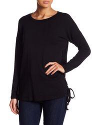 Fifteen Twenty - Lace-up Side Sweatshirt - Lyst
