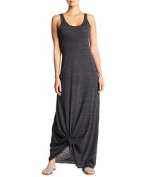 Alternative Apparel - Scoop Neck Tank Maxi Dress - Lyst