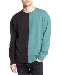 The Rail - Colorblock T-shirt - Lyst