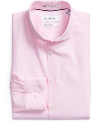 Calibrate - Extra Trim Fit Stretch No-iron Dress Shirt - Lyst