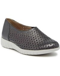Munro - Skipper Perforated Leather Trainer - Multiple Widths Available - Lyst