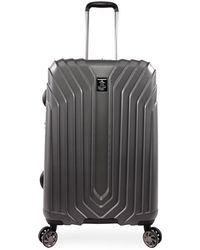 "Original Penguin Charcoal 21"" Blake Collection Hard Case Spinner Luggage"