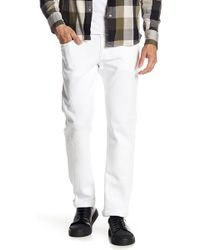 Psycho Bunny - Whitby Distressed Straight Leg Jeans - Lyst