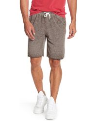 Threads For Thought - Burn Out French Terry Shorts - Lyst