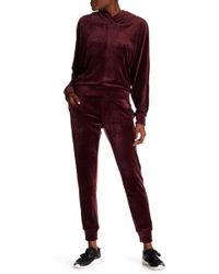 Marc New York - Velvet Jogger Sweatpants - Lyst