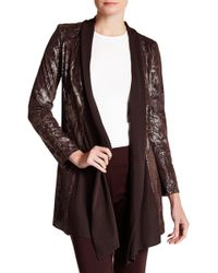 Insight | Lace Up Jacket | Lyst
