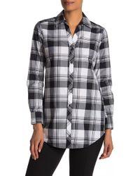 Foxcroft - Faith Plaid Print Shirt - Lyst