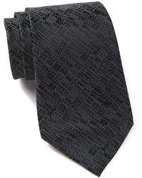 Calvin Klein - Digital Allover Silk Tie - Lyst