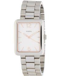 Fossil - Women's Atwater Bracelet Watch, 28mm X 34mm - Lyst
