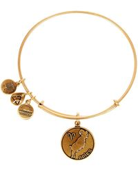 ALEX AND ANI - Aries Ii Expandable Wire Bangle - Lyst