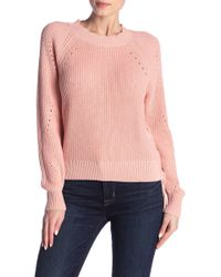Joie - Adanya Lace Side Sweater - Lyst