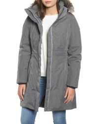 The North Face - Arctic Ii Waterproof 550-fill-power Down Parka With Faux Fur Trim - Lyst