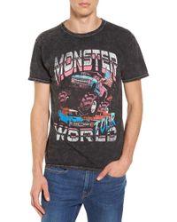 The Rail - Monster World Graphic T-shirt - Lyst