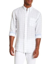 Brooks Brothers - Chequered Long Sleeve Sport Fit Shirt - Lyst