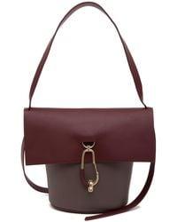 Zac Posen - Belay Leather Crossbody Bag - Lyst