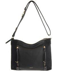 Perlina - Suzy Leather Crossbody Bag - Lyst