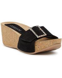 Cordani | Arista Platform Wedge Jewelled Sandal | Lyst