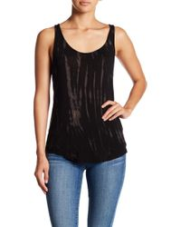 Go Couture - Scoop Neck Tank - Lyst