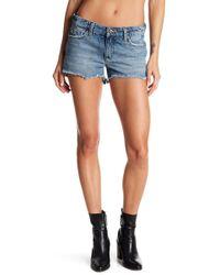 Joe's Jeans - Hi-lo Frayed Shorts - Lyst