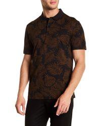 Vince - Tropical Leaf Polo Shirt - Lyst