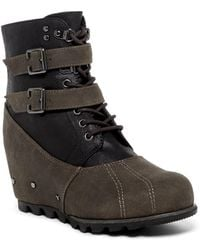 Not Rated - Hermione Wedge Boot - Lyst