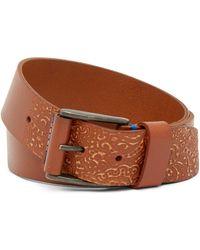 Robert Graham - Penniman Leather Belt - Lyst