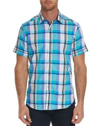 Robert Graham - Filmore Short Sleeve Shirt - Lyst