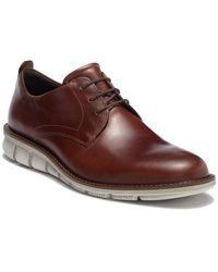 Ecco - Jeremy Hybrid Plain Toe Derby - Lyst
