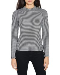 Ayr - The Slope Stripe Top - Lyst