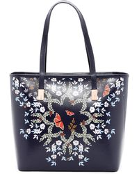 Ted Baker - Matildi Kyoto Gardens Small Shopper - Lyst